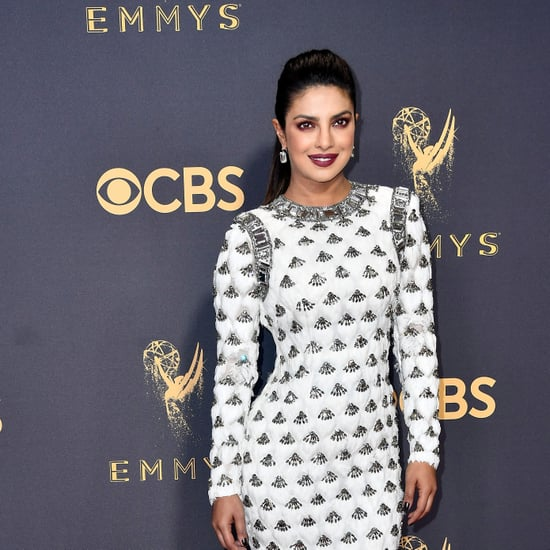 Priyanka Chopra's Balmain Dress at 2017 Emmys