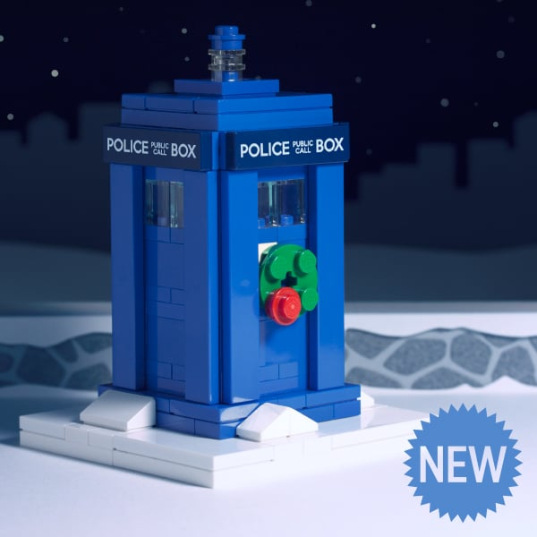 Police Box (Holiday Edition) Building Guide