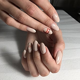 Nude Nail Color Idea