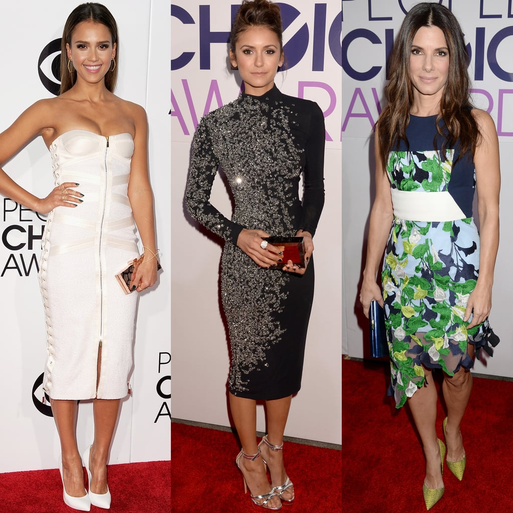 Your People's Choice Awards Red Carpet Glamour Report