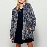 Free People Women's Faux Fur Bliss Coat ($268)