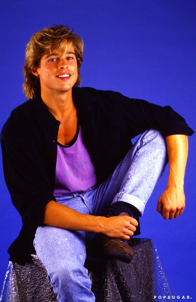 Brad Pitt Pictures From 1987