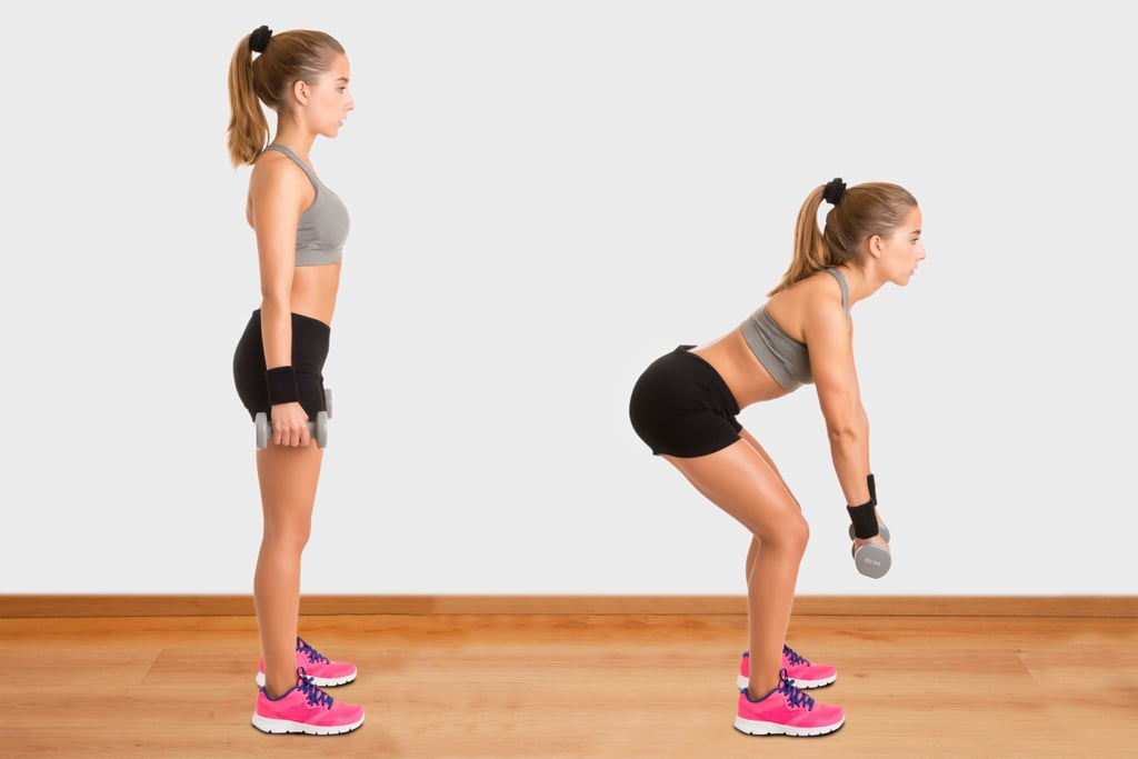 Dumbbell Deadlifts For a Strong Posterior Chain