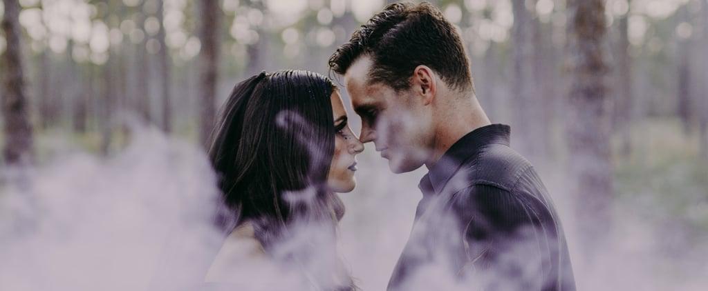Witch-Inspired Halloween Wedding Shoot