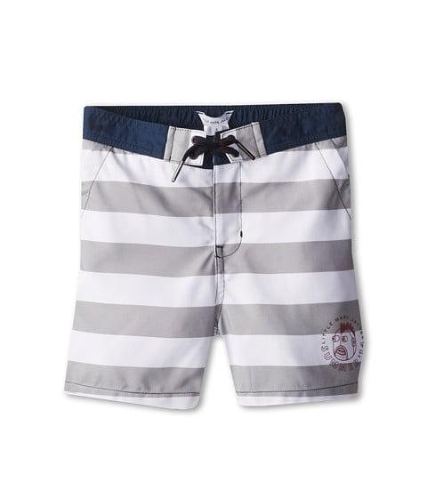 Boys' Striped Swim Trunks