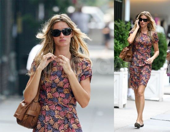 Gisele Turns 27 While BF Tom Turns Daddy