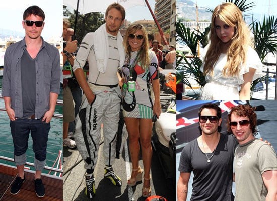 25/5/2009 Celebrities at Monaco Grand Prix