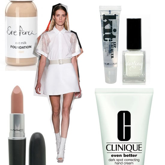 Fashionable Clothes Shoes Jeans Lipsticks Nail Polish: Shop The Minimal Makeup And Nail Polish Trend From Spring