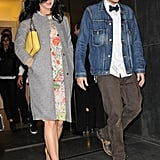 Katy Perry and John Mayer had dinner in NYC.