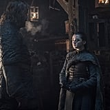 Arya Stark and The Hound