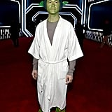 Joseph Gordon-Levitt Yoda Costume at Star Wars Premiere 2015
