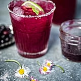 Blueberry Basil Margarita