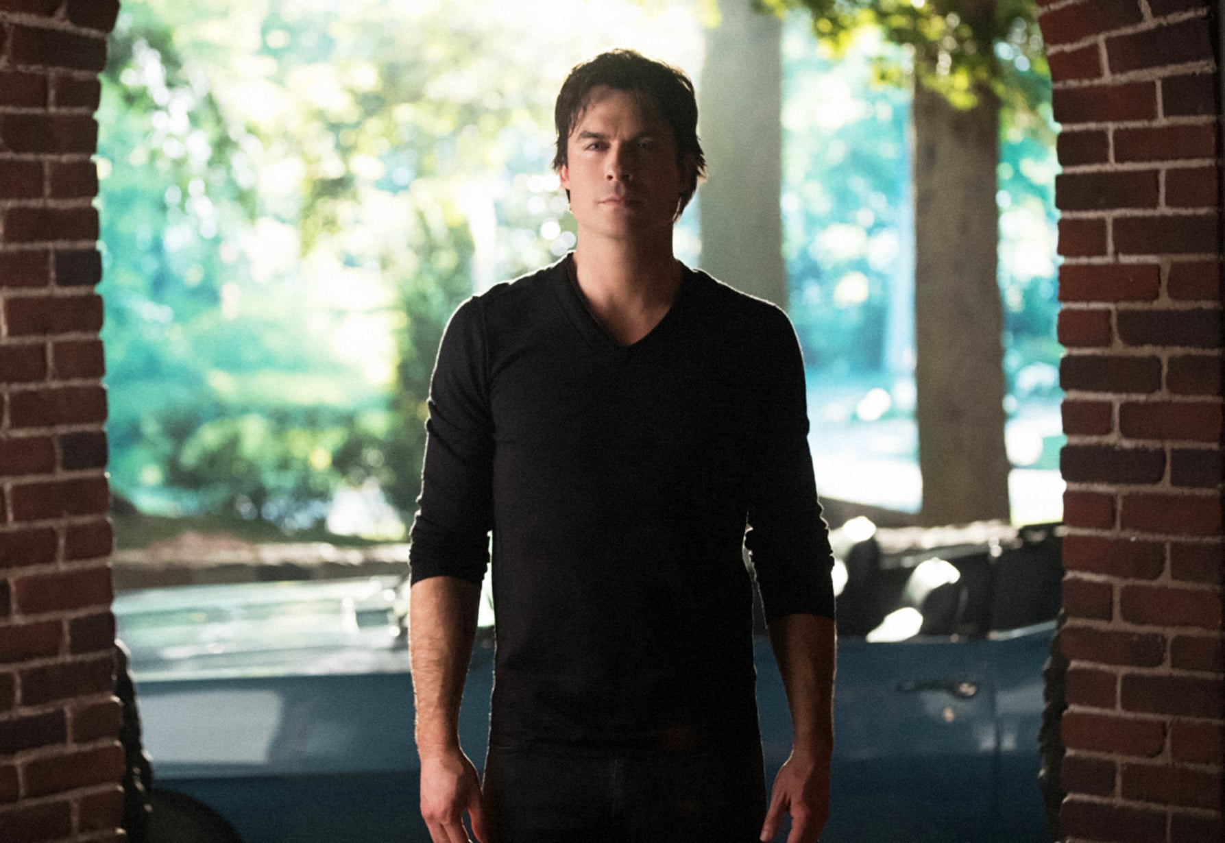 THE VAMPIRE DIARIES, Ian Somerhalder, 'I Was Feeling Epic', (Season 8, ep. 816, aired March 10, 2017). photo: Bob Mahoney / The CW / Courtesy: Everett Collection