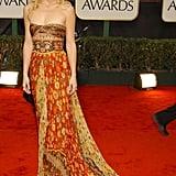 Kate Hudson in Printed Valentino at the 2003 Golden Globe Awards
