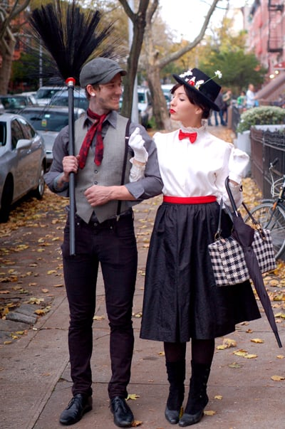 bert and mary poppins halloween couples costume ideas. Black Bedroom Furniture Sets. Home Design Ideas