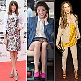 Get the preppy-sophisticate vibe of these celebs in heeled loafers.