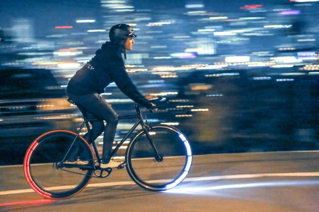 Revolights, the Light-Up Wheels