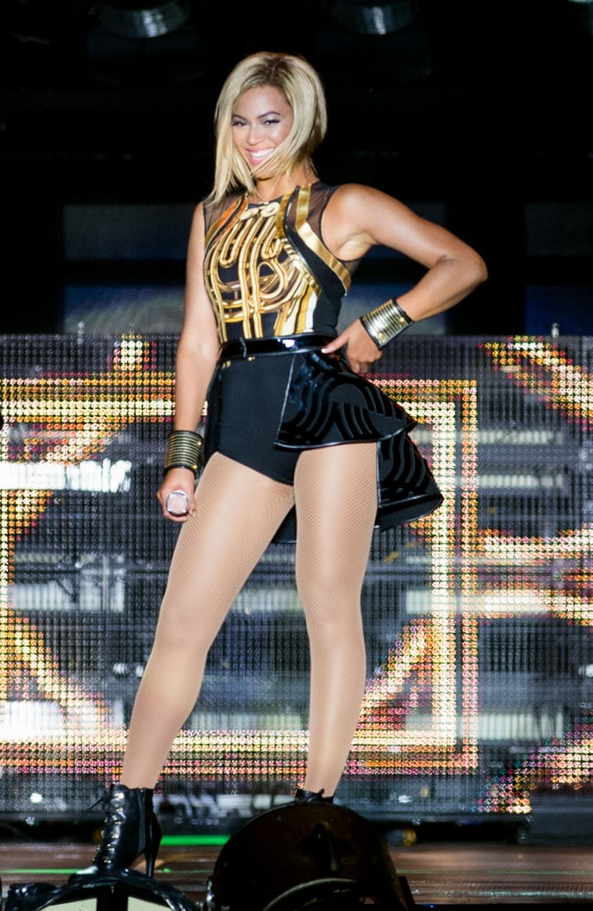 She Debuted Her Bob in England . . .