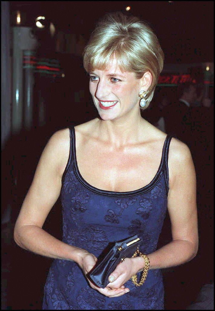 Princess Diana S Short Haircut From Sam Mcknight