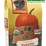 Wet Noses Pumpkin Treats ($9)