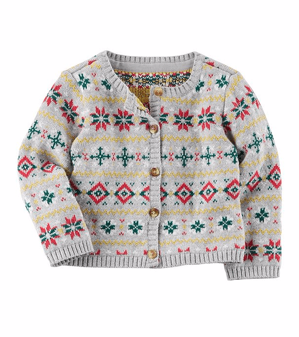 Fair Isle Cardigan | Ugly Christmas Sweaters For Babies | POPSUGAR ...
