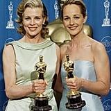 Pictured: Kim Basinger and Helen Hunt