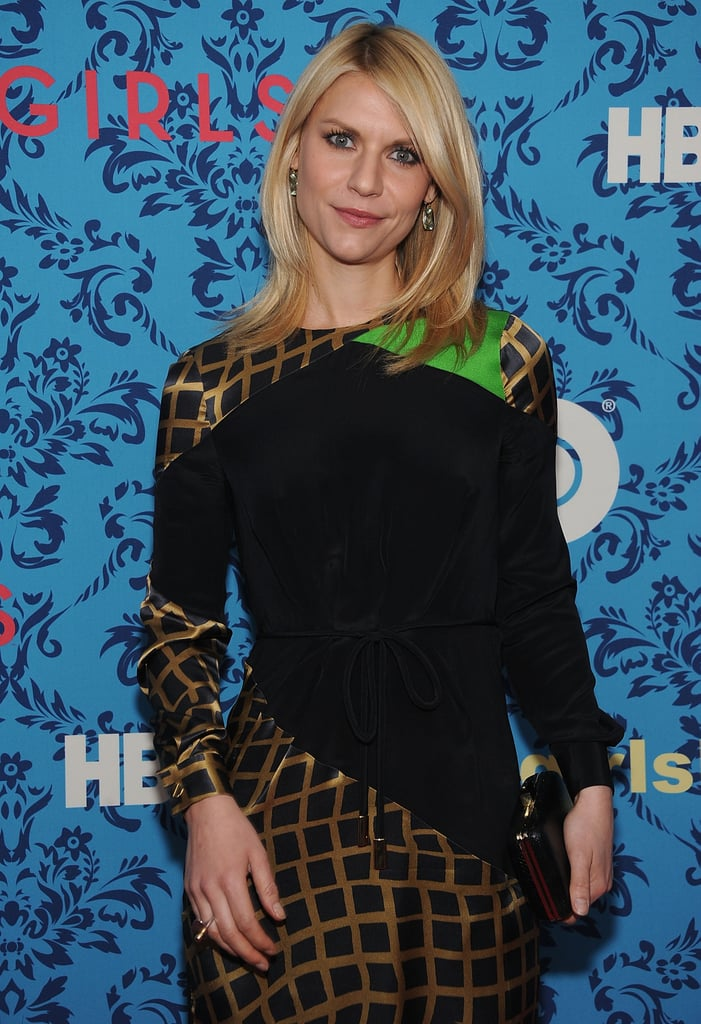 Claire Danes at the premiere of HBO's Girls in NYC.