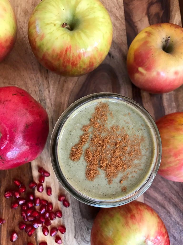 Apple Pomegranate Protein Smoothie