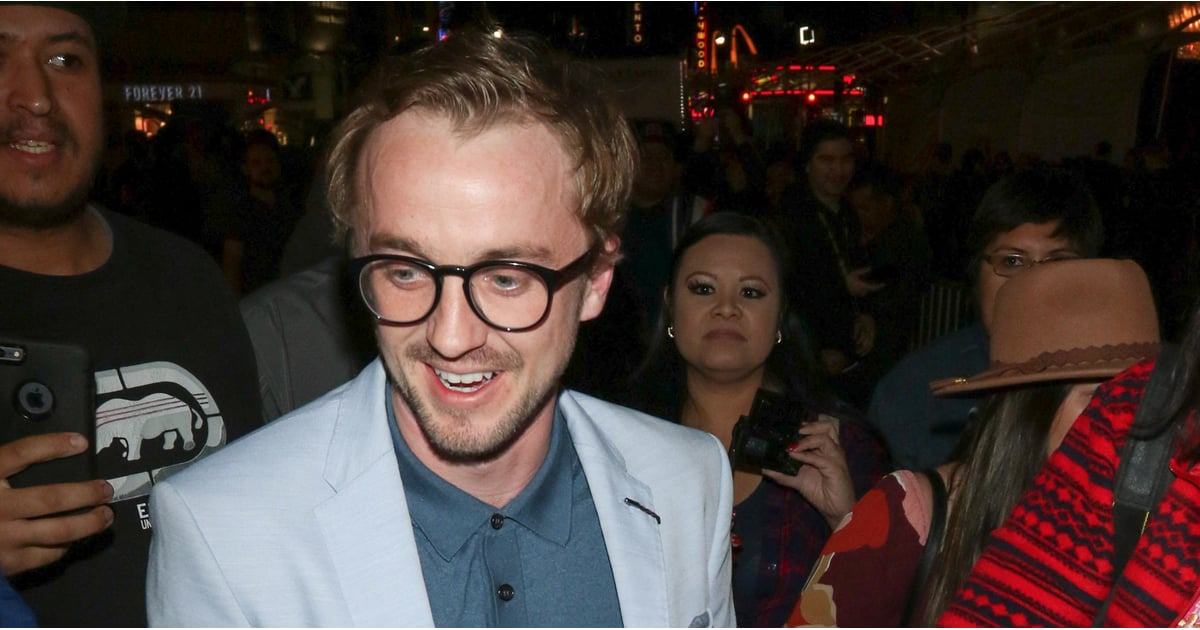 PopsugarLoveHarry PotterTom Felton Holding Rose at Beauty and the Beast PremiereWe Need to Talk About That Rose Tom Felton Was Carrying at the Beauty and the Beast PremiereMarch 11, 2017 by Tara Block280 SharesChat with us on Facebook Messenger. Learn what's trending across POPSUGAR.Image Source: Getty / Stefanie Keenan / gotpap / Bauer-GriffinIMPORTANT: Our favorite hot wizard we love to hate (but secretly just love) Tom Felton aka Draco Malfoy not only attended the Beauty and the Beast premiere starring our beautiful tropical fish and feminist goddess Emma Watson, but he was also holding a single red ROSE in his hand. Exhibit A:Image Source: Getty / gotpap / Bauer-GriffinFellow Dramione shippers, I know you feel me on this. Tom CLEARLY brought that rose for Emma because magic and love are real and Draco and Hermione forever. And to the haters who think a fan gave Tom that rose, how DARE you. Also, never forget that time Emma said,