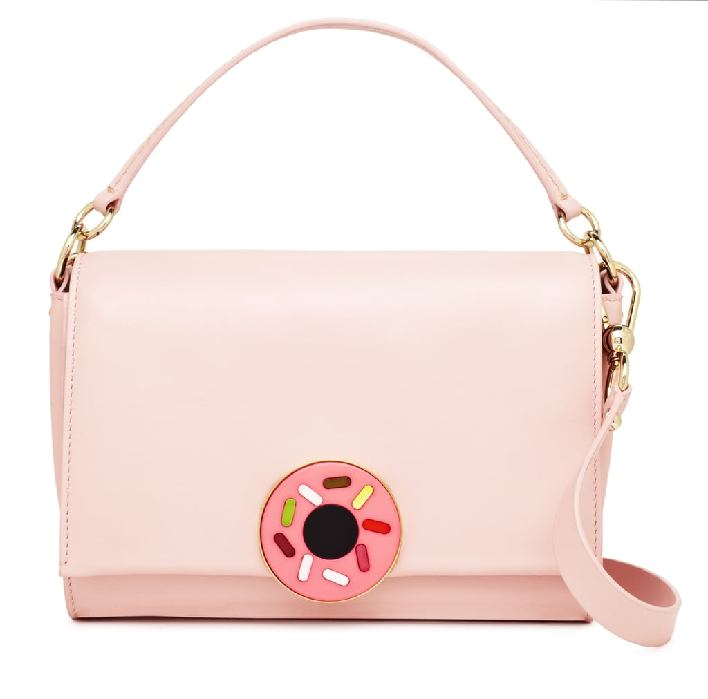A ladylike silhouette still feels cheeky with a sprinkled donut decoration. Photo courtesy of Kate Spade New York