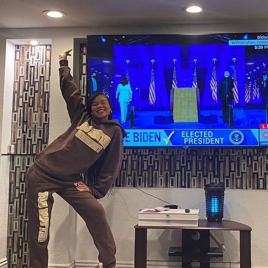 Storm Reid Wears You Matter Sweats to Watch Election Results