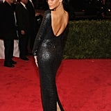 Rihanna's Tom Ford dress . . . from the back.