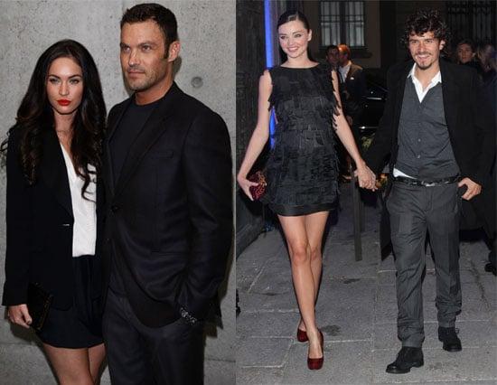Celebrities at 2011 Spring Milan Fashion Week