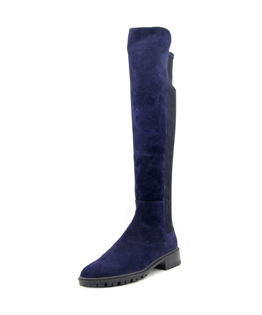 Stuart Weitzman Blue Suede Boots