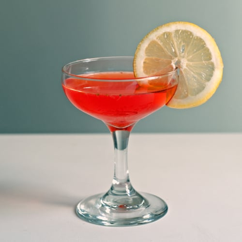 Strawberry Vodka Cocktail