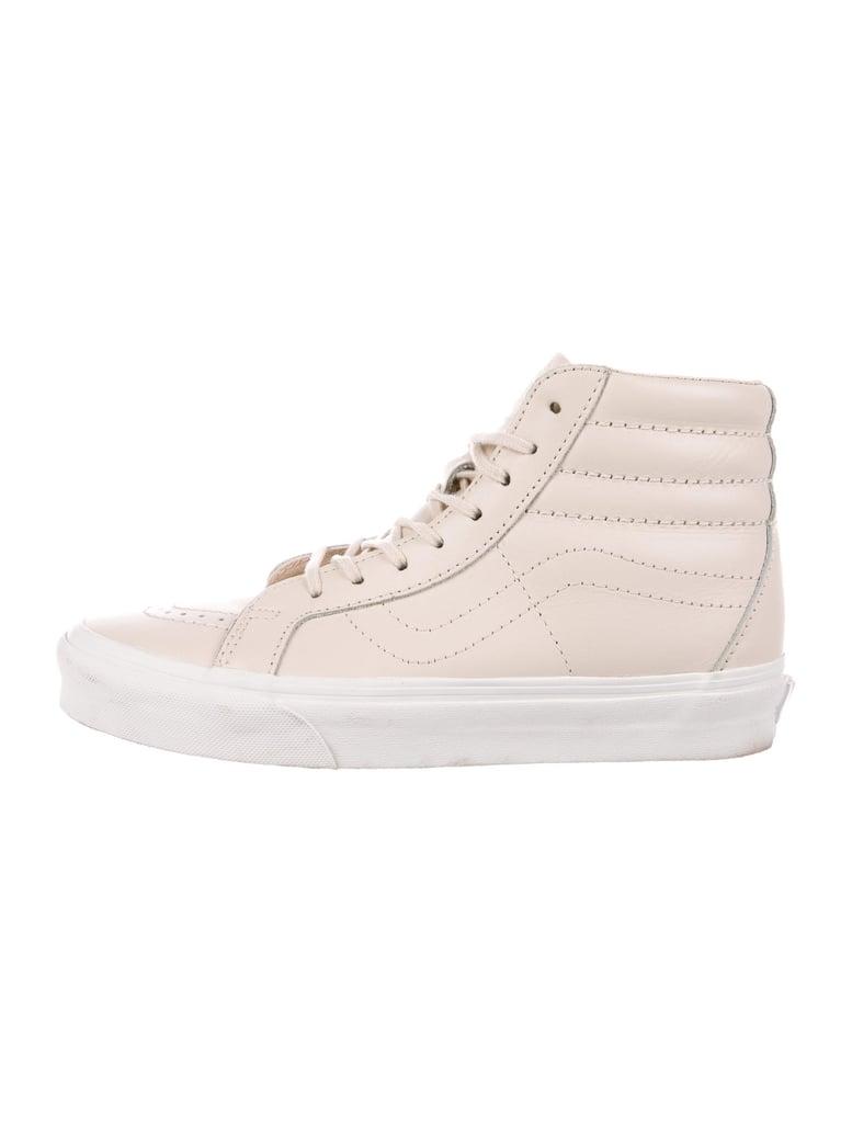 Vans Leather High-Top Sneakers