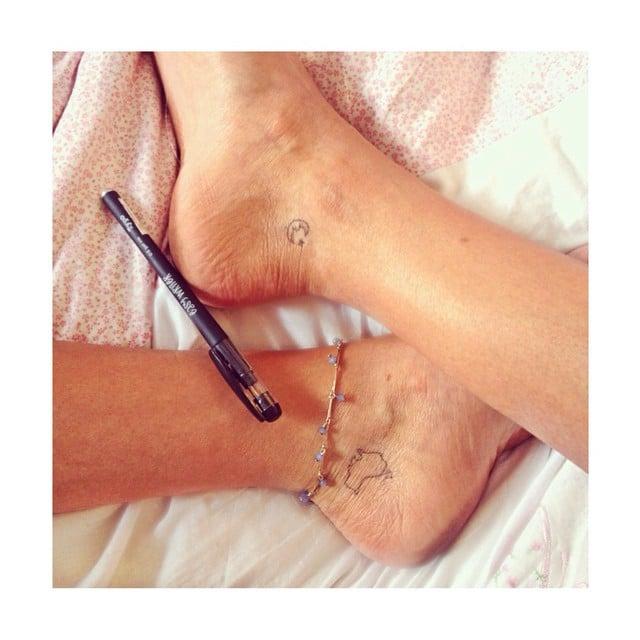 Tiny travel tattoos popsugar smart living voltagebd Image collections