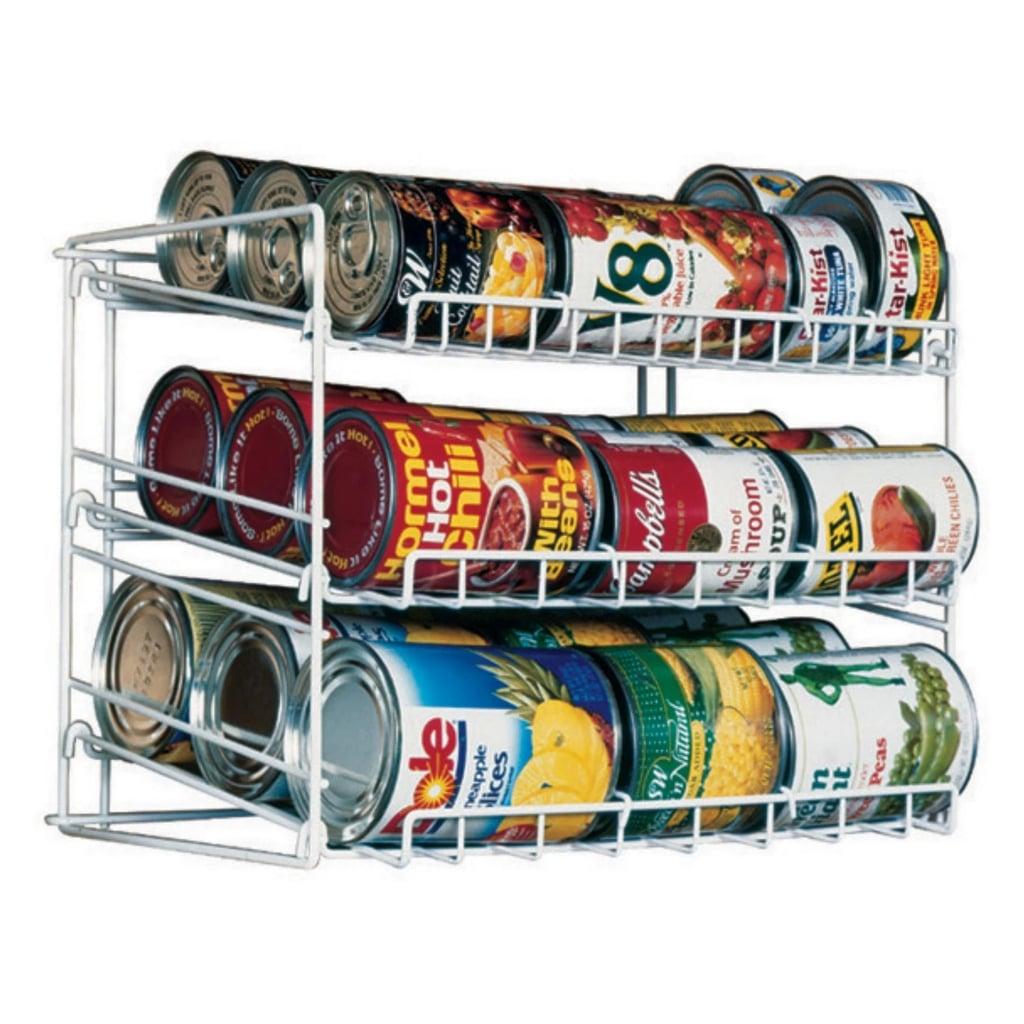 Atlantic Kitchen Storage Can Rack in White