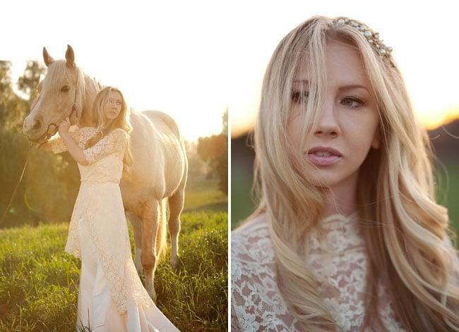 Equestrian Princess Bride Style