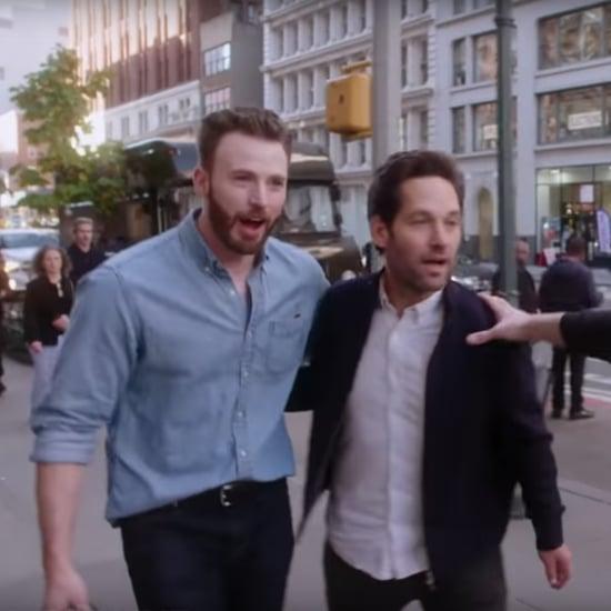 Paul Rudd Crashes Chris Evans's Billy on the Street Episode