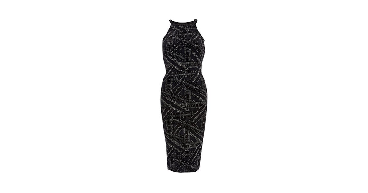 River Island Navy Sparkle Bodycon Dress The Best Party Dresses For