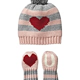 Gap Love U Hat and Mittens Set
