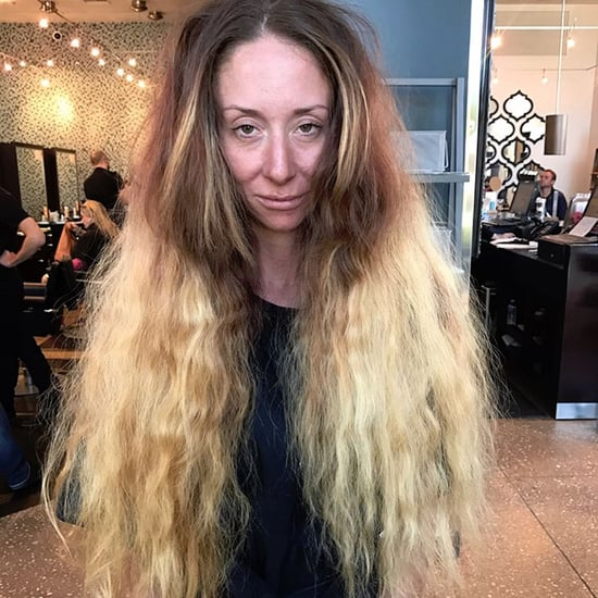 Woman Gets Dramatic Hair Makeover Before Wedding