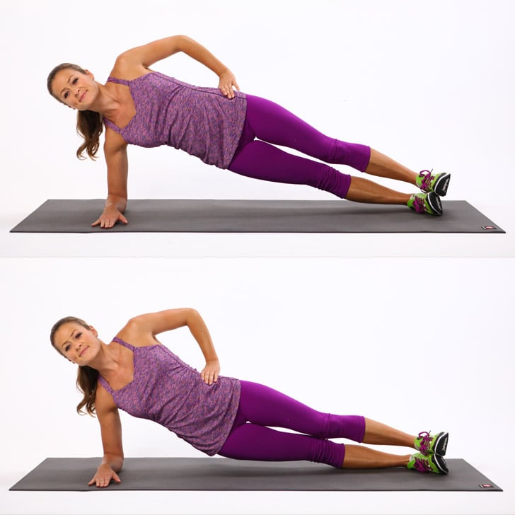 Side Plank Dip