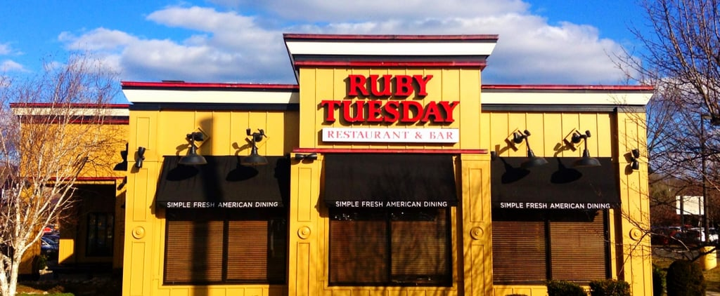 Amazon Selling Discounted Ruby Tuesday Gift Cards