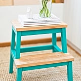 Give Them a Leg Up With a Fun Washi-Tape Step Stool