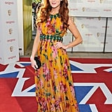 Olivia Grant was colourful.