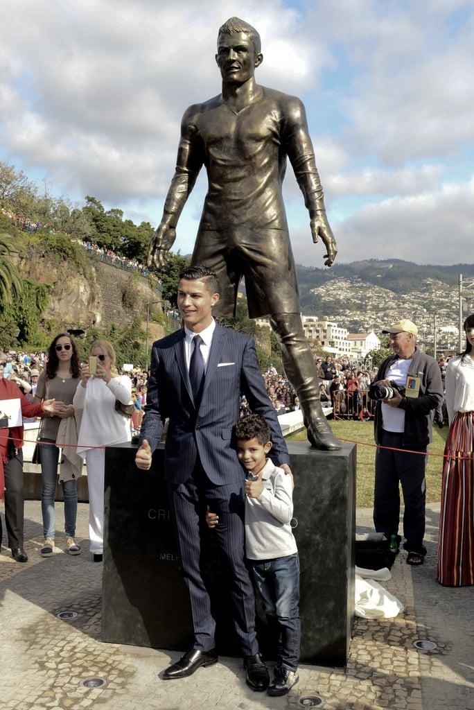 Cristiano Ronaldo Statue   Pictures