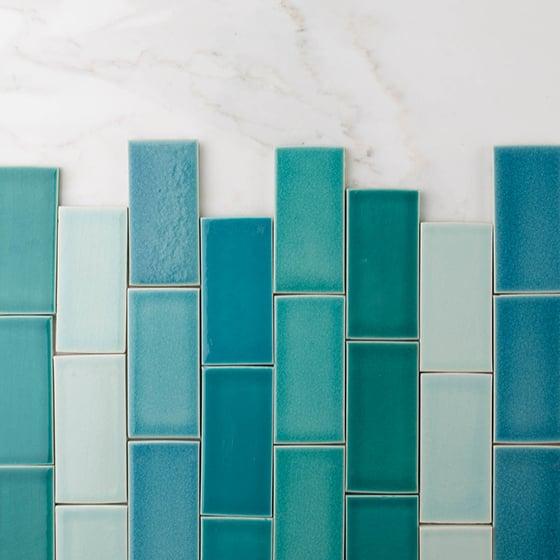 Colorful Glazed Tile