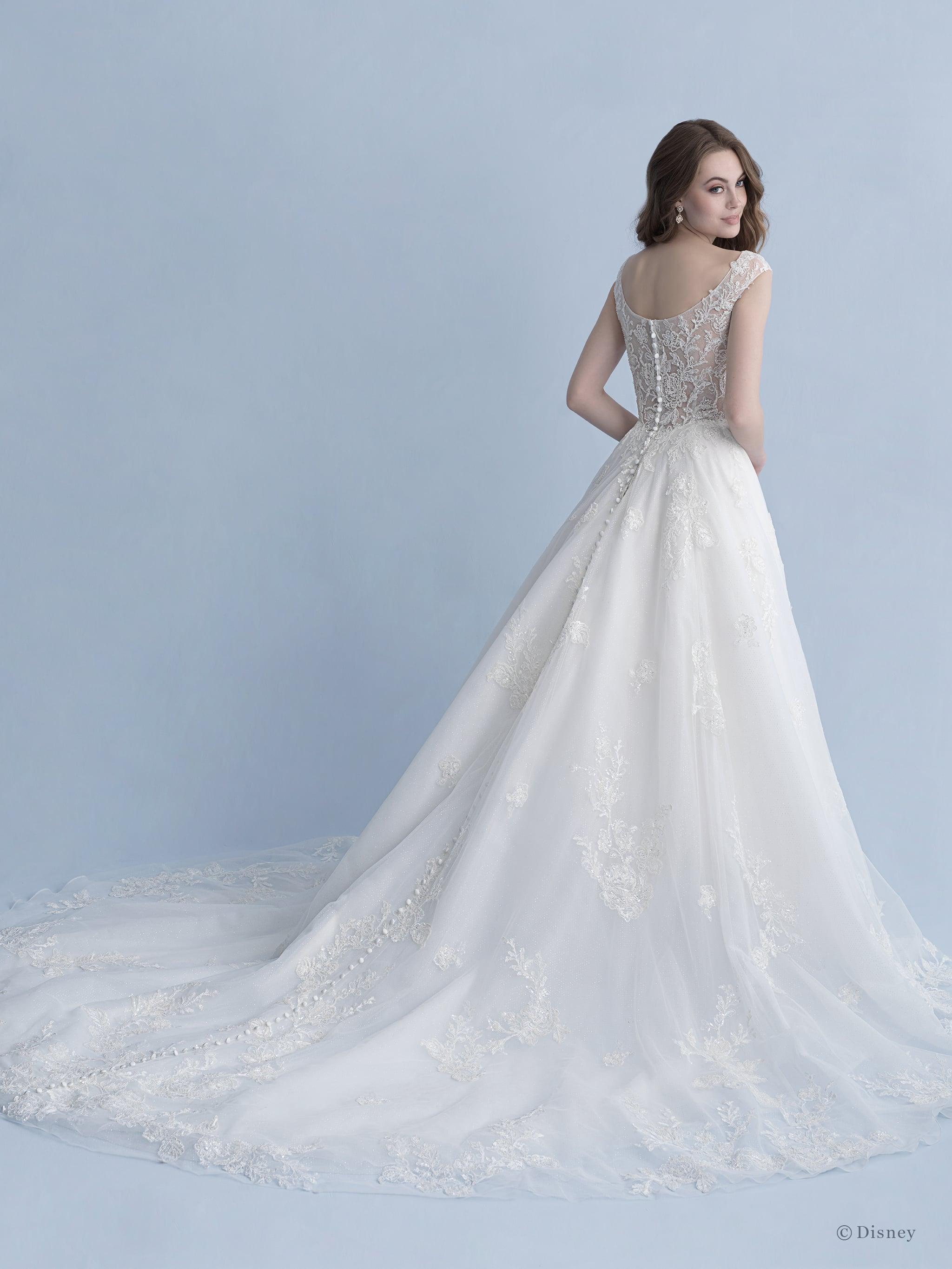 See Every Disney Princess Wedding Dress From Allure Bridals Popsugar Love Sex